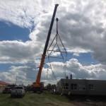 Ecole St Thomas Modulars Crane
