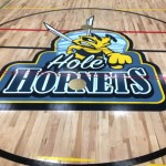 Lois E Hole gym logo